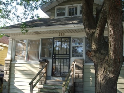 Calumet City Single Family Home New: 216 156th Place