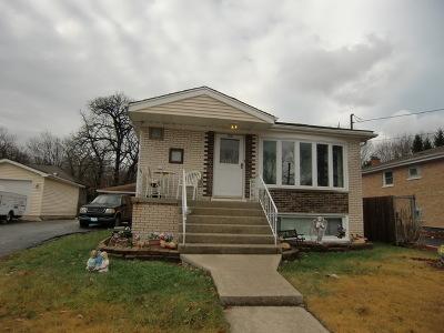 Oak Forest Single Family Home New: 16138 Grove Avenue