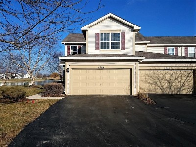 Romeoville Condo/Townhouse For Sale: 1794 North Wentworth Circle