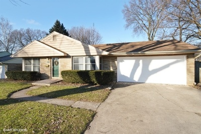 North Aurora Single Family Home New: 109 April Lane