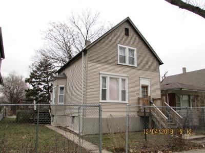 Single Family Home New: 10548 South Lafayette Avenue