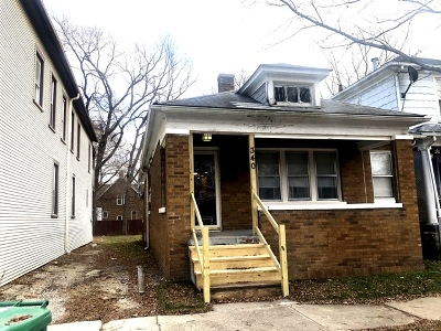 Joliet IL Single Family Home Re-Activated: $100,000