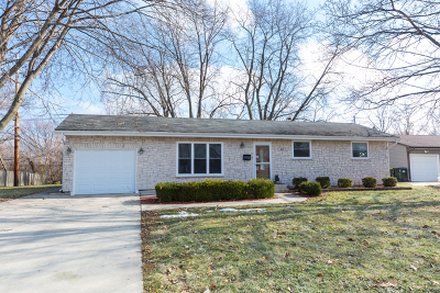 Carol Stream Single Family Home For Sale: 441 North Silverleaf Boulevard
