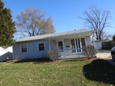 Romeoville Single Family Home For Sale: 433 Fenton Avenue