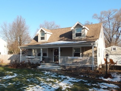 Wheaton Single Family Home For Sale: 0n731 Woods Avenue