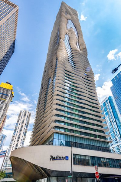 Chicago Condo/Townhouse New: 225 North Columbus Drive #6807