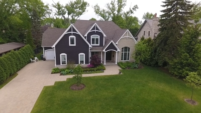 Glenview Single Family Home For Sale: 1001 Woodlawn Road