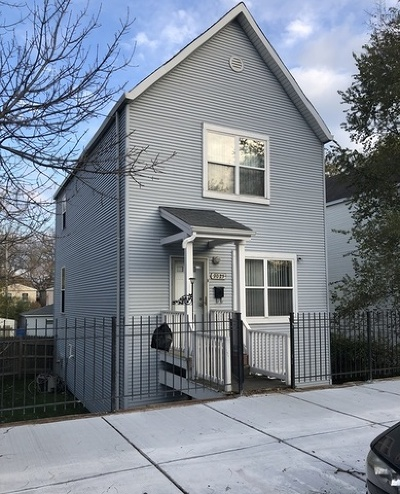 Chicago IL Single Family Home New: $88,000