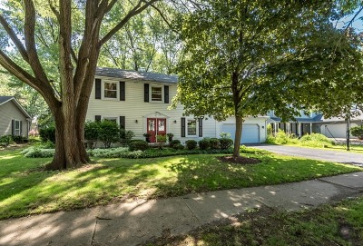 Naperville Single Family Home Re-Activated: 1624 Indian Trail Drive