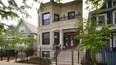 Chicago Multi Family Home New: 1927 North Lawndale Avenue