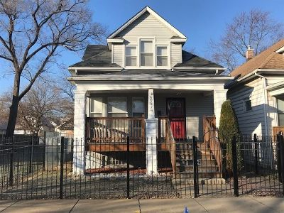 Single Family Home New: 10524 South Lasalle Street
