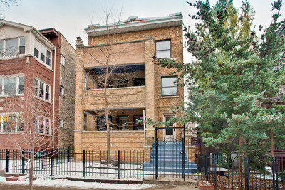 Chicago Multi Family Home New: 1121 West Columbia Avenue