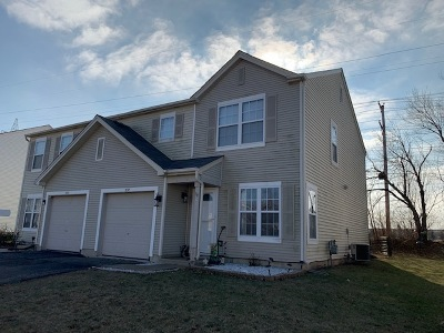 Romeoville Condo/Townhouse For Sale: 937 East Savannah Drive