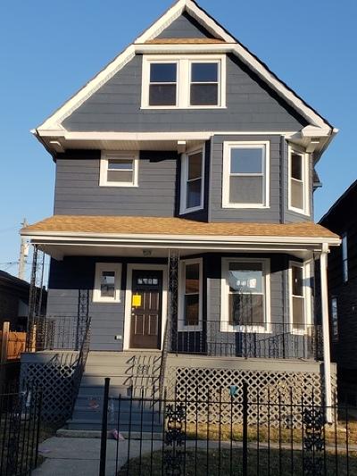 Chicago Single Family Home New: 163 North Latrobe Avenue
