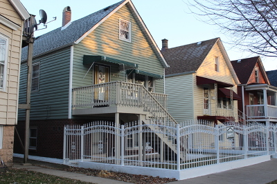 Chicago Multi Family Home New: 4219 South Washtenaw Avenue