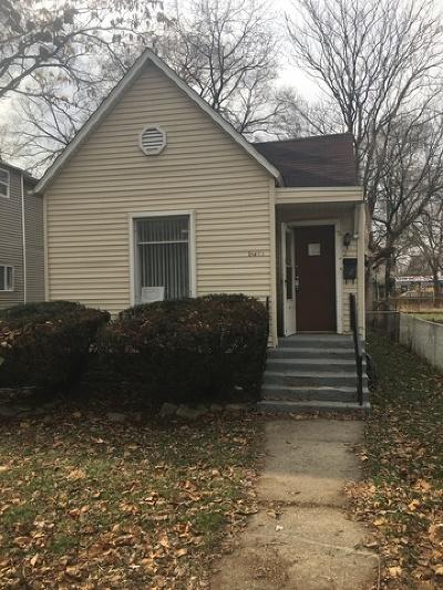 Harvey IL Single Family Home New: $24,900