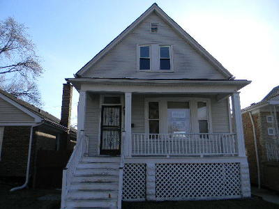 Chicago Single Family Home New: 8805 South Marshfield Avenue