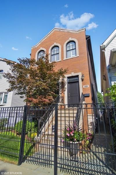 Single Family Home New: 3509 North Hoyne Avenue