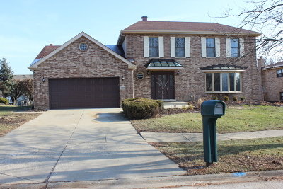 Orland Park Single Family Home For Sale: 14001 Stonegate Lane