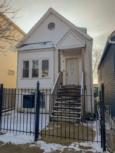 Single Family Home New: 2437 West Fletcher Street