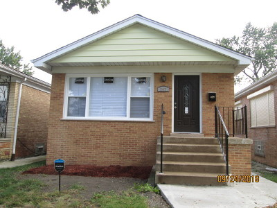 Chicago IL Single Family Home New: $184,900
