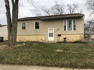 Romeoville Single Family Home Re-Activated: 219 Nippert Avenue