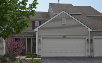 Naperville Condo/Townhouse New: 2860 Rutland Circle