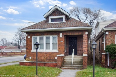 Cook County Single Family Home New: 7601 South Michigan Avenue