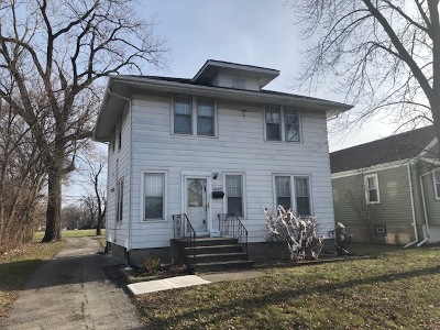 Lansing Single Family Home New: 18009 Burnham Avenue