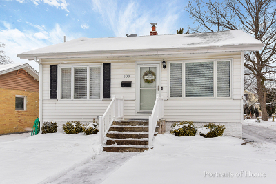 Downers Grove Single Family Home For Sale: 330 7th Street