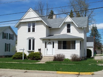 Sycamore Single Family Home For Sale: 119 West Ottawa Street