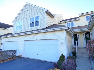 Carpentersville Condo/Townhouse Contingent: 2059 Orchard Lane