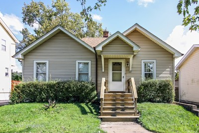 Westmont Single Family Home New: 4109 North Park Street