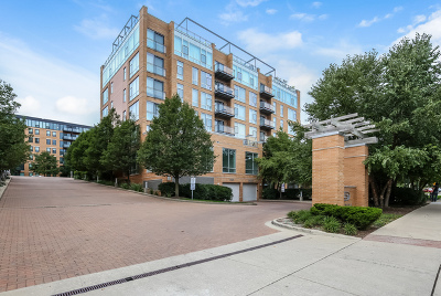 Evanston Condo/Townhouse Price Change: 1740 Oak Avenue #602A