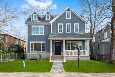 Wilmette Single Family Home For Sale: 124 Park Avenue