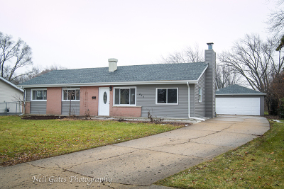 Hoffman Estates Single Family Home New: 235 West Thacker Street