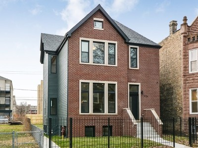 Chicago Single Family Home New: 4726 South Champlain Avenue