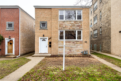 Evanston Multi Family Home For Sale: 1619 Monroe Street