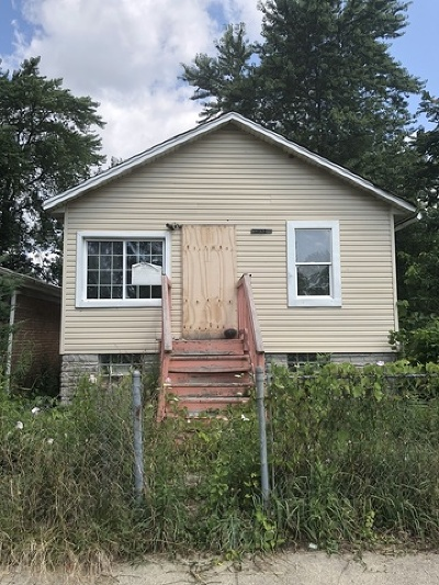 Chicago IL Single Family Home New: $20,000