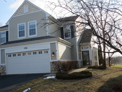 Bolingbrook Condo/Townhouse New: 556 Pinebrook Drive