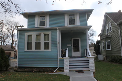 Chicago Single Family Home New: 5015 West Hutchinson Street
