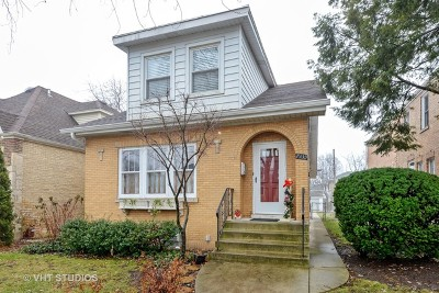 Chicago Single Family Home New: 7339 West Greenleaf Avenue