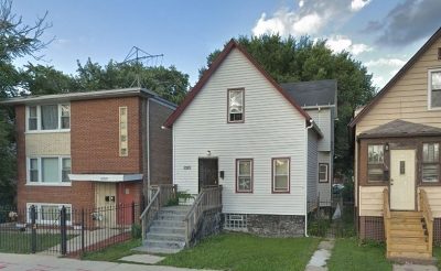 Chicago Single Family Home New: 10931 South State Street