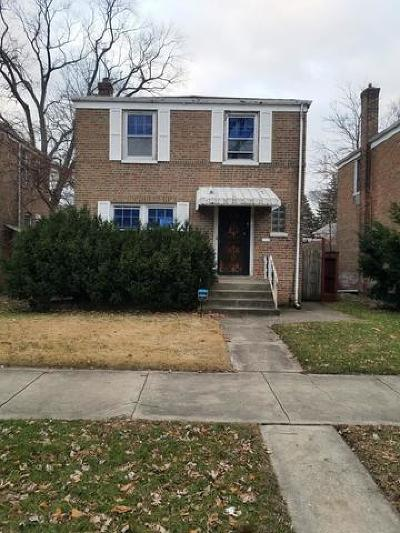 Calumet Park Single Family Home For Sale: 937 West 123rd Street