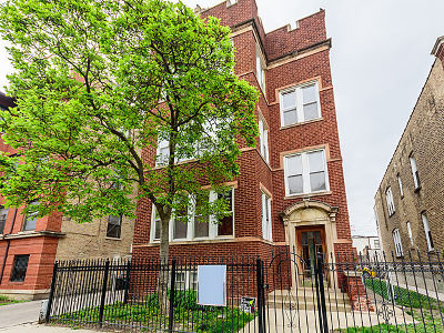 Cook County Multi Family Home Contingent: 3042 West Gunnison Street