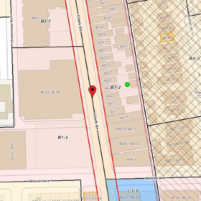 Chicago Residential Lots & Land For Sale: 4623-25 North Clark Street