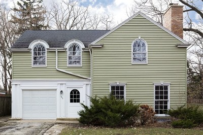 Wilmette Single Family Home New: 1315 Richmond Lane