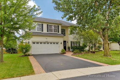 Plainfield Single Family Home For Sale: 5302 Maple Glen Drive