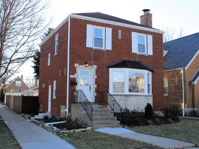 Chicago Single Family Home New: 5901 West Roscoe Street
