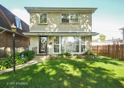 Skokie Single Family Home For Sale: 5412 Main Street